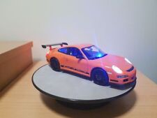 1 18 Porsche GT3 RS orange unmarked police with LED lights
