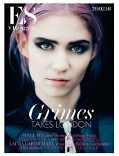 Visions GRIMES Photo Cover interview UK ES MAGAZINE FEBRUARY 2016