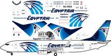 Egyptair Boeing 737-800 decals for Revell 1/144 kit