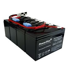 RBC25 UPS Complete Replacement Battery Kit for SU1400RMXLB3U APC UPS System(s)