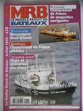 MRB - Modèle Réduit de Bateau #428 (REVUE) Remorqueur Neuf-Brisach - Offshore