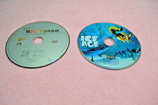 LOT OF 2 DVDs ICE AGE & Nickelodeon's BARNYARD The Original Party Animals GUC