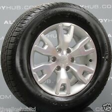 "GENUINE NEW FORD RANGER 18""INCH POLISH/SILVER SINGLE/SPARE ALLOY WHEEL+TYRE X1"