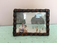 """20% Off Bamoo root photo frame 5""""x7"""" Black Was $10"""