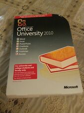 Microsoft Office University 2010 for University and College Students/Faculty.