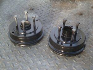 Renault Clio MK1, 2x rear brake drums (painted), 180mm
