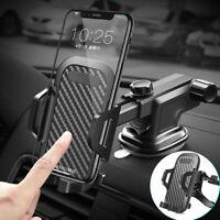 Car Mount Holder Dash/Windshield W/ Air Vent Clip Fr iPhone X XR XS Max 8 7 Plus