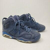 Nike Air Jordan 6 Retro Size 4.5Y (GS) Diffused Blue Jimmy Butler 384665-400