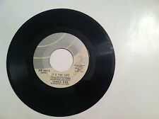CLASSIC - CAROLE KING - IT'S TOO LATE - 45 RPM - (ORIGINAL LABEL)  VG++