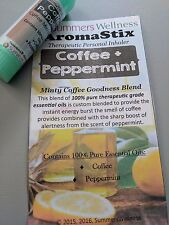 PEPPERMINT COFFEE!! Essential Oil Personal AROMATHERAPY Inhaler