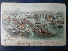 Hamburg Posted Collectable German Postcards