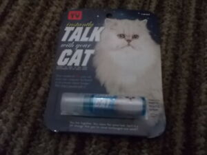 INSTANTLY TALK WITH YOUR CAT MINTY MOUTH SPRAY N.I.P