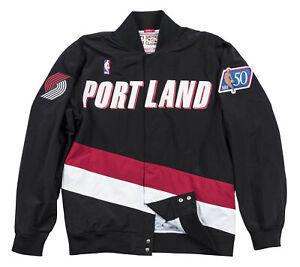 Mitchell & Ness NBA Authentic Portland Trail Blazers 1996-97 Warm Up Jacket Top