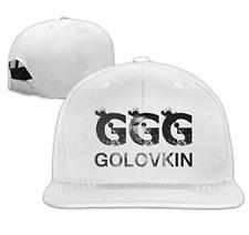 6d561f031a46 Unisex Gennady Golovkin GGG Boxing Snapback Adjustable Flat Baseball Hat Cap