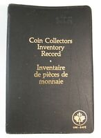 Uni-Safe - Coin Collectors Inventory Record Binder - HTF  - FREE SHIPPING