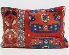 Anatolian pillow cover Turkish rug pillow cover room art kilim area rugs 24 x16