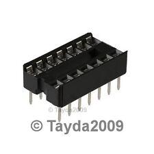 10 x 14 pin DIP IC Sockets Adaptor Solder Type
