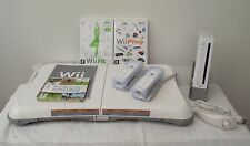 Wii CONSOLE+Wii FIT+61 GAMES AND 2 CONTROLLERS INCLUDING A FREE  YEARS WARRANTY