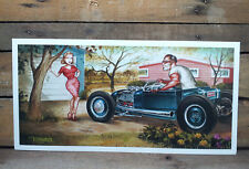 Early Hot Rods Poster 1932 1929 1934 1933 1930 Bonneville El Mirage Lakes Racing