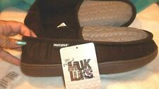 NEW Men's brown MUK LUKS Slippers size Small (8/9)