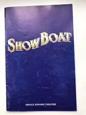 SHOWBOAT The Musical Programme Prince Edward Theatre