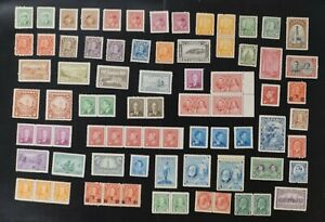 Canada lot of F/VF MNH stamps with HIGH CAT values (v158)