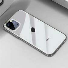 Crystal Clear Case Slim Soft Back Cover For Apple iPhone 11 Pro Max 11 Pro 2019