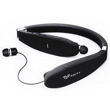 Savfy Ecouteur Casque pliable Bluetooth 4.1 Intra-auriculaire sans fil Csr8635