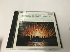 SCREEN THEMES 1986/87 DENON CD Let's Go To The Movies 30CY-1354 [B10]