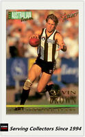 1995 Select AFL Series 1 All Australia Team Card AA2 Gavin Brown (Collingwood)