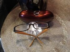 350$  Just CAVALLI Women BLACK /CAMEL  Eye Glasses Optical Frame Eyeglasses JC47
