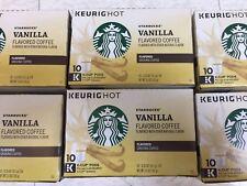Starbucks Vanilla Coffee Keurig 60 K-Cups