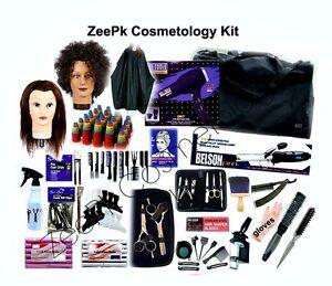 ZeePk Cosmetology School Student Kit for Hair Styling, Cutting, Beauty School