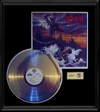 DIO RONNIE JAMES HOLY DIVER  RARE GOLD RECORD PLATINUM  DISC LP ALBUM