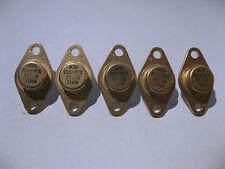 Qty 5 Motorola CGGJANTX2N3739 Silicon Transistors MILSPEC Gold 2N3739 - NOS