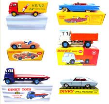 Lot de 6 Dinky Toys Atlas Ford Triumph Opel - Voiture Camion Diecast Car MARDT6
