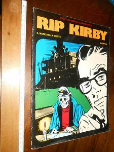 FUMETTO-RIP KIRBY -SCORPION - IL MARE DELLA MORTE -COMIC ART-FEBB. 1986-VOL 153