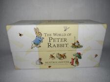 """WORLD OF PETER RABBIT"" 2002 BEATRIX POTTER COMPLETE COLLECTION ORIGINAL TALES"