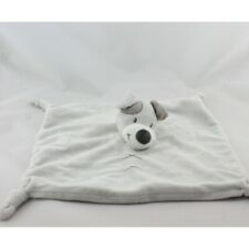 Doudou plat chien gris JOGYSTAR BVBA - Chien-Loup-Renard Plat / Semi plat