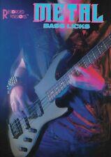 Méthode basse - Metal bass licks
