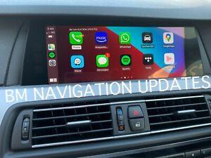 BMW NBT EVO ID5 ID6 APPLE CARPLAY ENET ACTIVATION & ANDROID SCREEN MIRROR +VIM