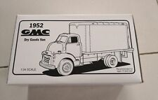 1952 GMC Burkhardts Dry Goods Van 1/34 scale Diecast Model Truck by First Gear