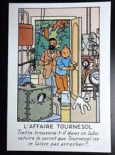 Rare carte postale  Tintin Arno 1984 ETAT NEUF