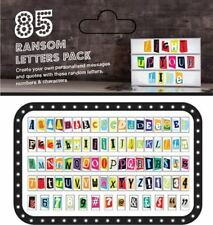 85 pcs of Ransom Style Replacement Letter Pack for A4 Lightbox