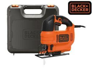 BRAND NEW BLACK + DECKER CORDED JIGSAW 520W BDJIG520 Tool-free blade change