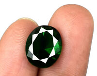 Colombian Green Emerald 3.25 Carat/11mm Gemstone Natural Oval Cut AGSL Certified