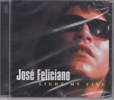 """Jose Feliciano """"Light My Fire"""" NEW & SEALED CD 18 Tracks Posted From The UK"""