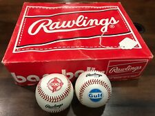 1 Dozen Rawlings CASE 1983 Phillies 100th Anniversary Baseball Gulf Oil RARE