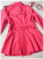 * Yessica * super schöner Trenchcoat Mantel Jacke in Rot * Gr. 42 *