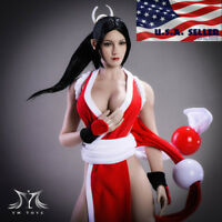 "1/6 Mai Shiranui Head Sculpt The King Of Fighters For 12"" PHICEN Figure ❶USA❶"